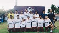 Fisik Football bersama Specs menggelar Fisik Football Elite Training di Makassar, Rabu (28/11/2018). (Istimewa)