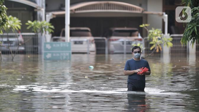 Ilustrasi banjir. (merdeka.com/Iqbal S. Nugroho)