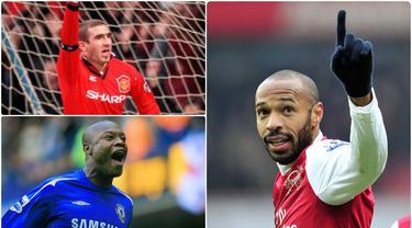 Liga Inggris selalu menjadi tempat pemain untuk meniti kariernya di dunia sepak bola. Bahkan banyak para pemain dari luar Inggris yang besar dan sukses di kompetisi Premier League, diantaranya pemain asal Prancis. Berikut 5 pemain Prancis yang melegenda di Inggris. (kolase foto AFP)