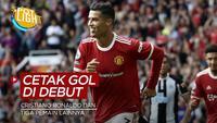 Berita video spotlight kali ini membahas tentang empat pemain yang berhasil mencetak gol pada denutnya di musim ini, salah satunya ialah Cristiano Ronaldo.