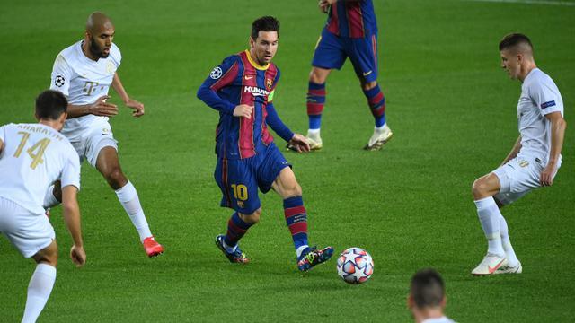 Gerard Pique Kartu Merah, Barcelona Pesta Gol di Laga Pembuka Liga Champions 2020/2021