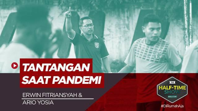 Berita Video, Curhat Aji Santoso dan Iwan Setiawan Soal Tantangan Melatih di Masa Pandemi
