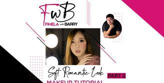 Fimela with Barry: Soft Romantic Look Makeup Tutorial Part 2