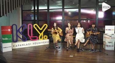 Gimana ya lagu Bruno Mars dinyanyikan oleh JKT48 Acoustic? Penasaran? Saksikan di KLY Lounge berikut ini...