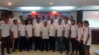 Wakil Ketua KONI Pusat, Soewarno, berharap PON Remaja 2017 tetap digelar meski bukan di Jawa Tengah. (Bola.com/Abdi Satria)