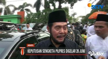 Ketua Mahkamah Konstitusi Anwar Usman pastikan sidang sengketa Pilpres 2019 akan selesai sesuai jadwal.