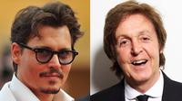 Paul McCartney mengajak Johnny Depp sebagai model untuk videoklip terbarunya dimana mereka bermain musik bersama.