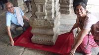 Pilar di kuil ini melayang dan buat heboh masyarakat