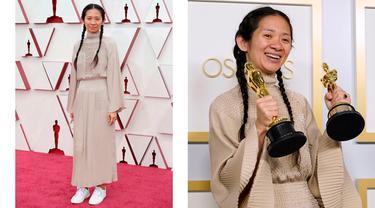 6 Potret Chloe Zhao, Wanita Asia Pertama Peraih Piala Oscar Sutradara Terbaik