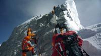 Puncak Everest atau Mount Everest di pegunungan Himalaya. (AFP)