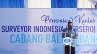 PT Surveyor Indonesia (Persero) meresmikan Kantor Baru Cabang Balikpapan (dok: Humas SI)