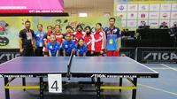 Tim Tenis Meja Pelajar Indonesia berkompetisi di ajang 6th Asian School Table Tennis Championships 2019 di Kota Vadodara, India.