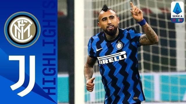 Berita video highlights Liga Italia, Inter Milan menang 2-0 atas Juventus, Senin (18/1/21)
