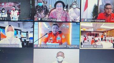 Ketua Umum DPP PDIP Megawati Soekarnoputri.