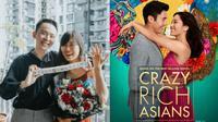 Terinspirasi Adegan Film Crazy Rich Asian, Pria Ini Lamar Kekasihnya Pakai Mahjong. (Sumber: imdb.com/ dan Facebook/Jeraldine Yeo)