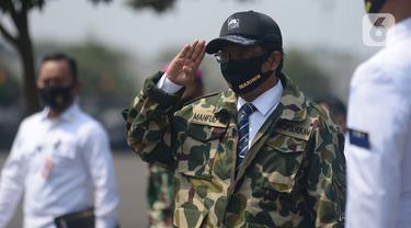 Menko Polhukam Mahfud MD Kunjungi Korps Marinir