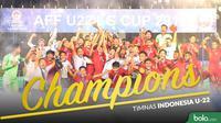 Piala AFF U-22 2019: Indonesia Vs Thailand Champions (Bola.com/Adreanus Titus)