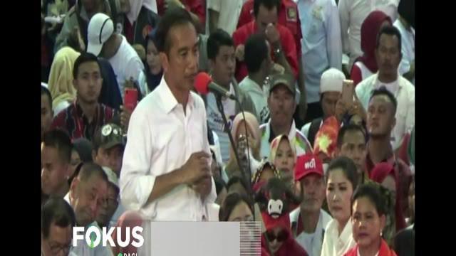 Dalam orasinya, Jokowi mengatakan jangan meremehkan kekuatan Tentara Nasional Indonesia (TNI) saat ini.