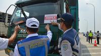 PT Jasamarga Surabaya Mojokerto (JSM) bekerjasama dengan Dinas Perhubungan, Kepolisian, Kejaksanaan dan PT Jasamarga Tollroad Operator menggelar operasi penertiban kendaraan Over Dimension dan Over Load (ODOL)