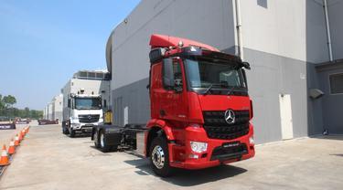 Mercedes-Benz secara resmi meluncurkan Actros dan Arocs untuk pasar otomotif Indonesia.
