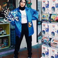 Street style Sivia Azizah. (Instagram/siviaazizah)