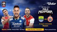Final Piala Menpora 2021 Leg Kedua di Vidio. (Sumber : dok. vidio.com)