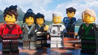 Sebuah adegan dari karakter-karakter dari film The Lego Ninjago Movie. Film ini disutradarai oleh Charlie Bean, Paul Fisher dan Bob Logan, ditulis oleh Fisher, Logan, Dan dan Kevin Hageman, dan Hilary Winston. (Warner Bros. Pictures via AP)