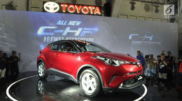 Toyota C-HR Resmi Diluncurkan