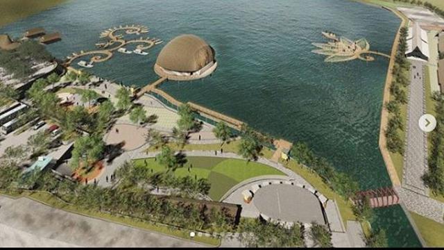 Kawasan Wisata Baru Situ Bagendit Dengan Biaya Rp104 Miliar