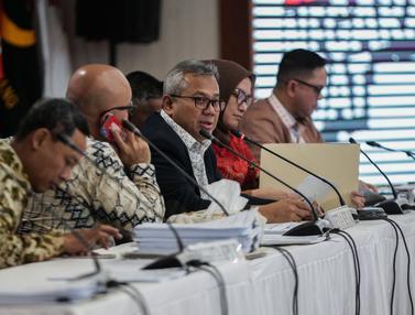 KPU Rekapitulasi Hasil Pemilu di Sulawesi Selatan dan PPLN Kuala Lumpur