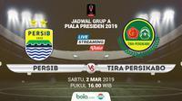 Jadwal Piala Presiden 2019, Persib Bandung vs Tira Persikabo. (Bola.com/Dody Iryawan)