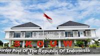 Kawasan perbatasan skouw (Dok: Kementerian PUPR)