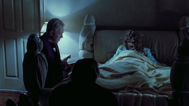 Cuplikan dari film The Exorcist terbitan 1973. (Sumber Amazon.com)