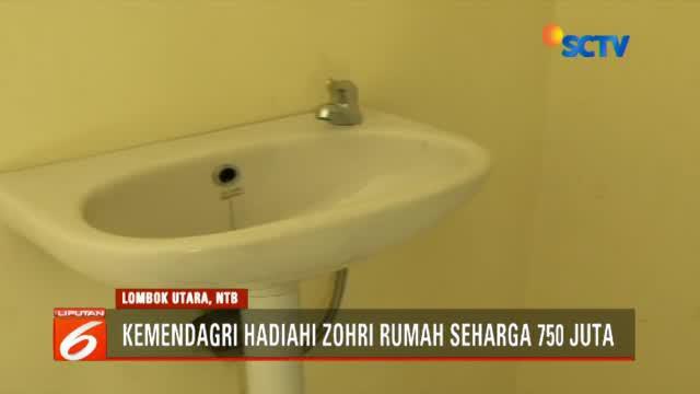 Setelah mendapat uang tunai hingga renovasi rumah, kali ini kado manis dihadiahkan oleh Kementerian Dalam Negeri yang akan memberikan rumah.