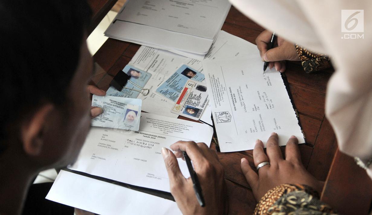 Foto Puluhan Pendatang Baru Terjaring Operasi Biduk Di