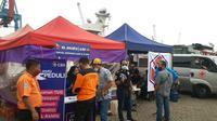 XL Axiata memperkuat kapasitas jaringan di sekitar lokasi evakuasi Sriwijaya Air SJ182 serta menyediakan fasilitas telepon umum gratis untuk tim evakuasi yang bertugas (Foto: XL Axiata).