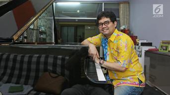 Pianis Ananda Sukarlan Umumkan Positif Terpapar Covid-19