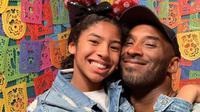 Kobe Bryant dan putrinya, Gianna Bryant. (dok.Instagram @kobebryant/https://www.instagram.com/p/B19p0ZWH5_l/Henry)