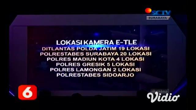 Polda Jawa Timur menjadi salah satu Polda yang menerapkan tilang elektronik atau ETLE yang diluncurkan serentak Kapolri melalui program ETLE Presisi Selasa (23/3).