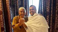 Amien Rais bertemu Rizieq Shihab di Arab Saudi. (Ist)