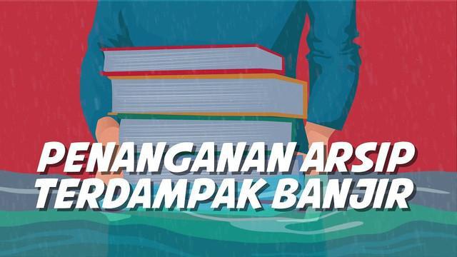 Banjir di sejumlah wilayah Jakarta dan sekitarnya menyisakan dampak. Salah satunya dokumen dan arsip keluarga terendam rusak.