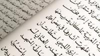 Ilustrasi bahasa Arab (sumber: iStock)