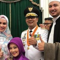 Ridwan Kamil berharap pernikahan Habib Usman bin Yahya dan Kartika Putri sakinah mawadah dan warahmah (Instagram/@ridwankamil)