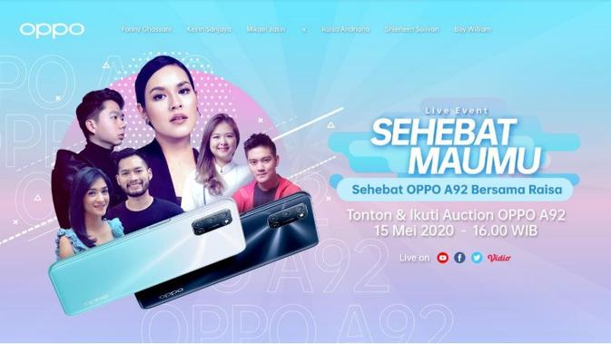 Ayo Tonton Live Streaming Event OPPO A92 Bersama R