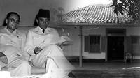 "Sukarno, Hatta, dan rumah tempat mereka ""diamankan"" di Rengasdengklok"