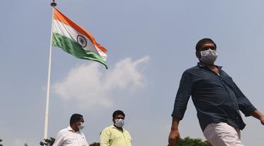 Kasus Covid-19 di India Lampaui Lima Juta