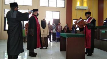 pelantikan wakil ketua PN Palu