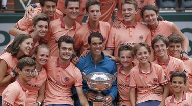 Rafael Nadal, Prancis Terbuka 2018