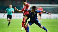 Timnas Korea Selatan U-23 Vs Timnas Jepang U-23 (AFP/Martin Bureau)