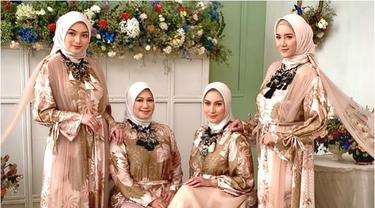 6 Pemotretan Citra Kirana dan Ketiga Kakaknya, Memesona Bak Saudara Kembar